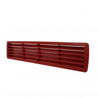 Türlüftung Türgitter Kunststoffgitter Lüftung Rot und weiteren Farben im Shop - Vorschau 2