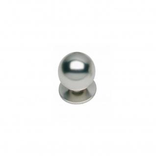 Intersteel Möbelknauf ø 25 mm rund Nickel matt