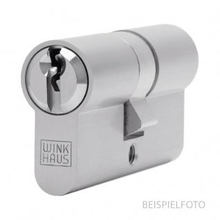Winkhaus Doppel-Profilzylinder Messing VS 45/35 mm, DIN, verschiedenschließend (Gleichschließung kann nicht über den eShop bestellt werden)