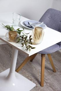 Tischgestell Untergestell Tischbein Tischfuß sehr hochwertig Weiß Hochglanz 73cm