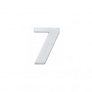 Intersteel Hausnummer 7 Chrom matt