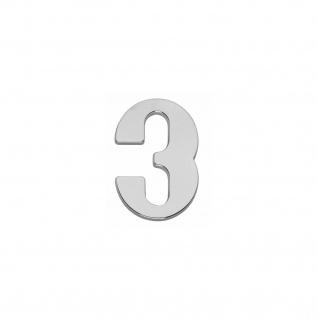 Intersteel Hausnummer 3 Chrom