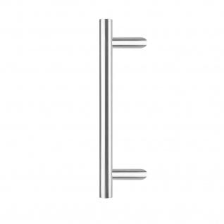 Intersteel Türgriff T-schräg ø 30 mm - 500 mm gebürsteter Edelstahl - Vorschau 1