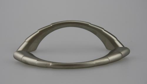 Möbelgriff Schrankgriff aus Metall - Nickel matt - Lochabstand 64 mm