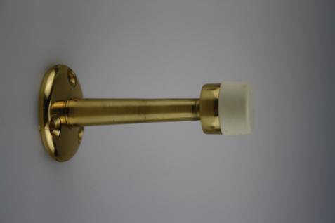 Türstopper Türpuffer Wandtürstopper aus Metall - Gold