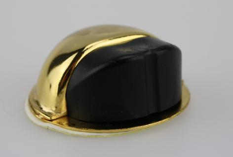 Türstopper Türpuffer Bodentürstopper aus Metall - Gold