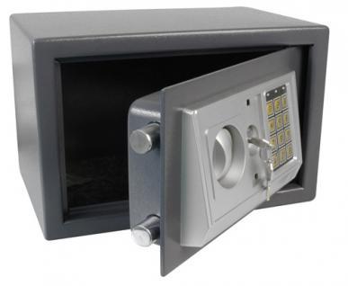 Elektronischer Safe Tresor Geldschrank aus Stahl - 25x35x25cm