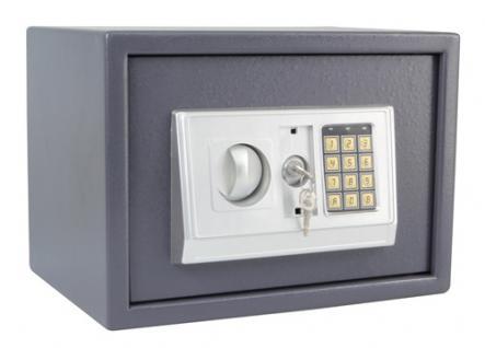 Elektronischer Safe Tresor Geldschrank aus Stahl - 25x35x25cm - Vorschau 2