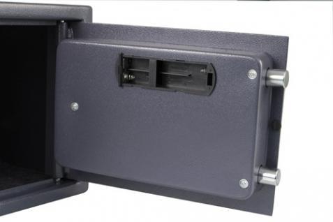 Elektronischer Safe Tresor Geldschrank aus Stahl - 25x35x25cm - Vorschau 3