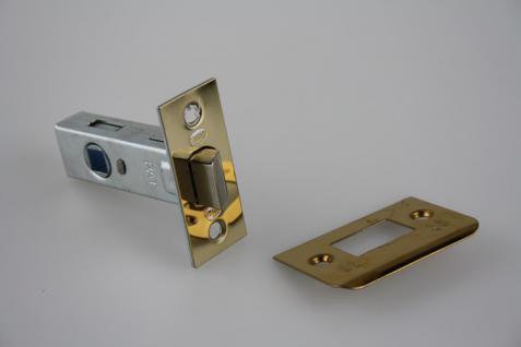 Türschloss Schlossfalle Einsteckschloss ohne Riegel aus Metall - 8 mm