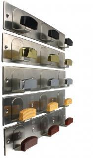 Garderobenhaken Kleiderhaken Huthaken - Länge 320 mm - verschiedene Ausführungen