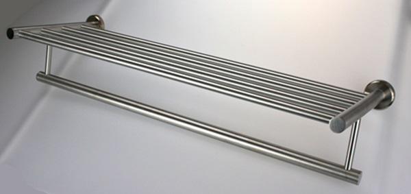 Super Handtuchhalter Handtuchablage aus Edelstahl - matt gebürstet BP28