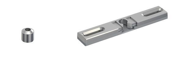 Universal Balkontürschnapper Schnapper Metall mit Gegenstück