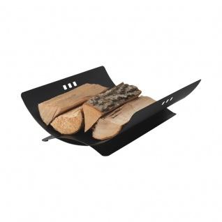 Square, Holzschale Eisen, schwarz beschichtet, 50/40/14, 5 cm, 4, 4 kg