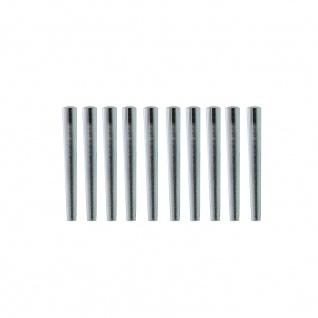 Intersteel Set mit 10 Türklinken-Stiften für Aluminiumklinken.