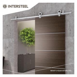 Intersteel Schiebetürsystem Modern Top Edelstahl - Vorschau 2