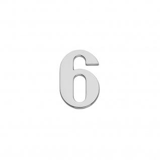 Intersteel Hausnummer 6 Chrom