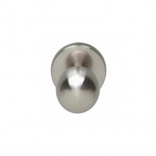 Intersteel Haustürknauf kugelförmig Nickel matt