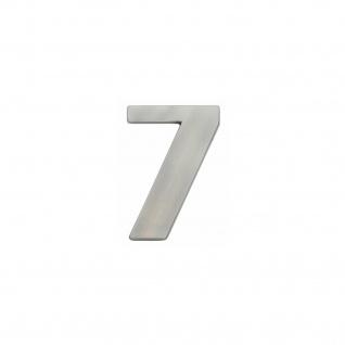 Intersteel Hausnummer 7 Nickel matt