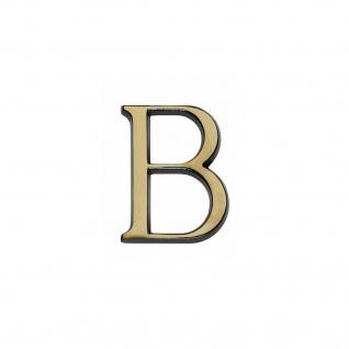 Intersteel Hausbuchstabe B Messing brüniert
