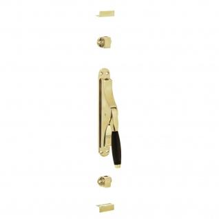 Intersteel Tür-Stangenschloss Ton 400 Messing lackiert/Ebenholz