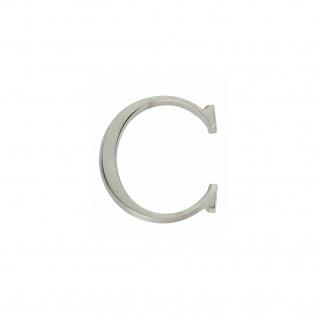 Intersteel Hausbuchstabe C Nickel matt