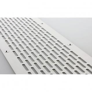 MS Beschläge® Aluminium Lochblech Lüftungsgitter Lüftung Breite 40mm Lochung 20mm x 3mm
