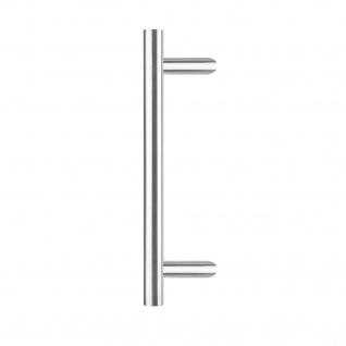 Intersteel Türgriff T-schräg 700x90x30 mm gebürsteter Edelstahl - Vorschau 1
