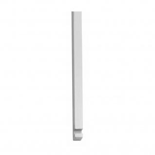 Intersteel Stangenset Tür-Stangenschloss 2 x 125 cm Chrom matt - Vorschau 1