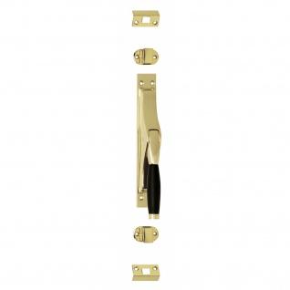 Intersteel Tür-Stangenschloss Ton 222 Messing lackiert/Ebenholz