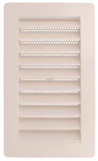 Lüftungsgitter Türlüftung Kunststoff Weiß Insektenschutzgitter verschiedene Maße