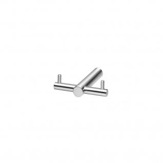 Intersteel Handtuch-/Kleiderhaken T-Form gebürsteter Edelstahl