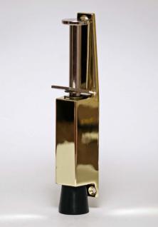 Türfeststeller Feststeller Türstopper Türpuffer gold 120mm x 25mm