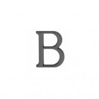 Intersteel Hausbuchstabe B mattschwarzes Titan PVD