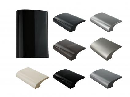 Balkongriff Ziehgriff Terrassentürgriff Deluxe verschiedene Farben - Schwarz