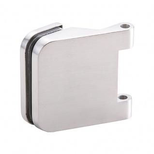 Glastürbänder Serie Meran Bänderpaar, 3-teilig, Leichtmetall F1