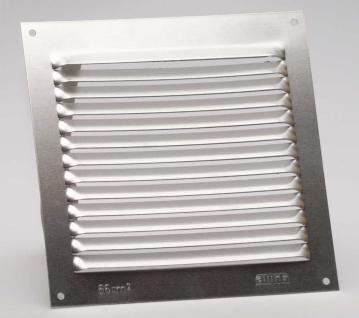 Aluminium Lüftungsgitter Abdeckung Lüftung Rohr Silber 150mm x 150mm