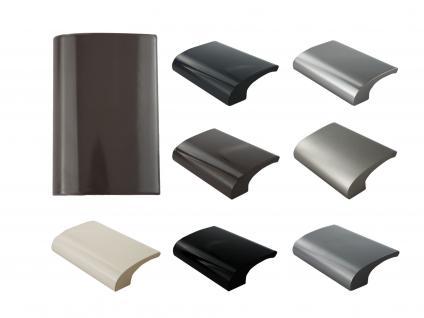 Balkongriff Ziehgriff Terrassentürgriff Deluxe verschiedene Farben - Braun