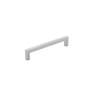 Intersteel Möbelgriff Quadrat 137 mm Chrom matt