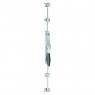 Intersteel Tür-Stangenschloss Ton 400 Chrom matt/Ebenholz