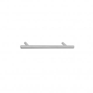 Intersteel Möbelgriff Ø 10 mm, Länge 146 mm Edelstahl gebürstet