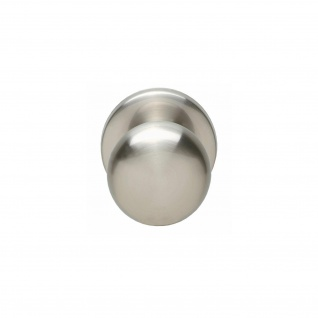 Intersteel Haustürknauf Pilz Nickel matt - Vorschau 1