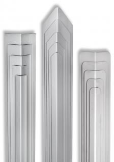 MS Beschläge® Eckschutzwinkel aus Edelstahl Kantenschutz V2A Schenkel 20mm x 20mm Länge 1250mm