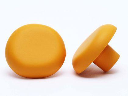 Möbelknopf Schrankknopf fürs Kinderzimmer Modell Gelber Pilz ø 36mm