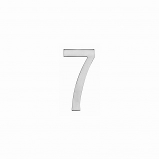 Intersteel Hausnummer 7 150 x 3mm gebürsteter Edelstahl
