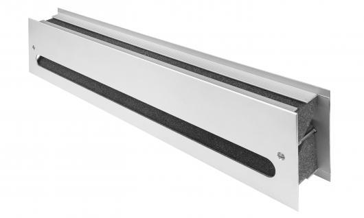 MS Beschläge® schalldämmendes Lüftungsgitter Türlüftung aus Metall EN ISO 717-1