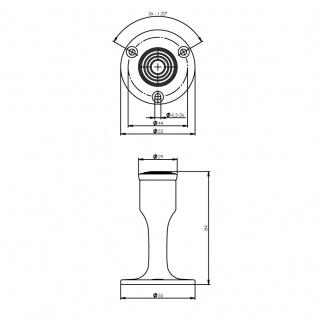 Intersteel Türstopper Wandmontage Chrom - Vorschau 2