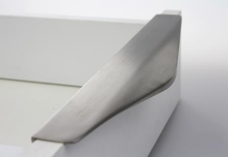 MS Beschläge ® Griffleiste Profilgriff Möbelgriff Lochabstand 192mm