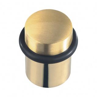 Türstopper Messing poliert/satiniert, Höhe 44 mm