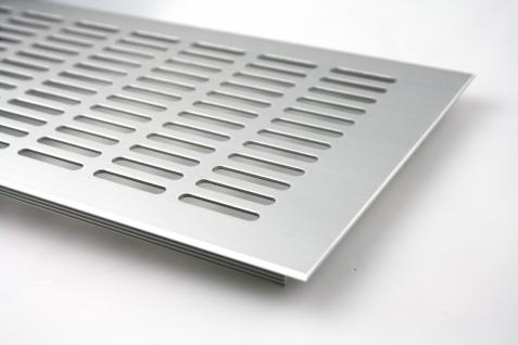 Aluminium Lüftungsgitter Stegblech Heizungsdeckel 150mm x 200mm verschiedene Farben